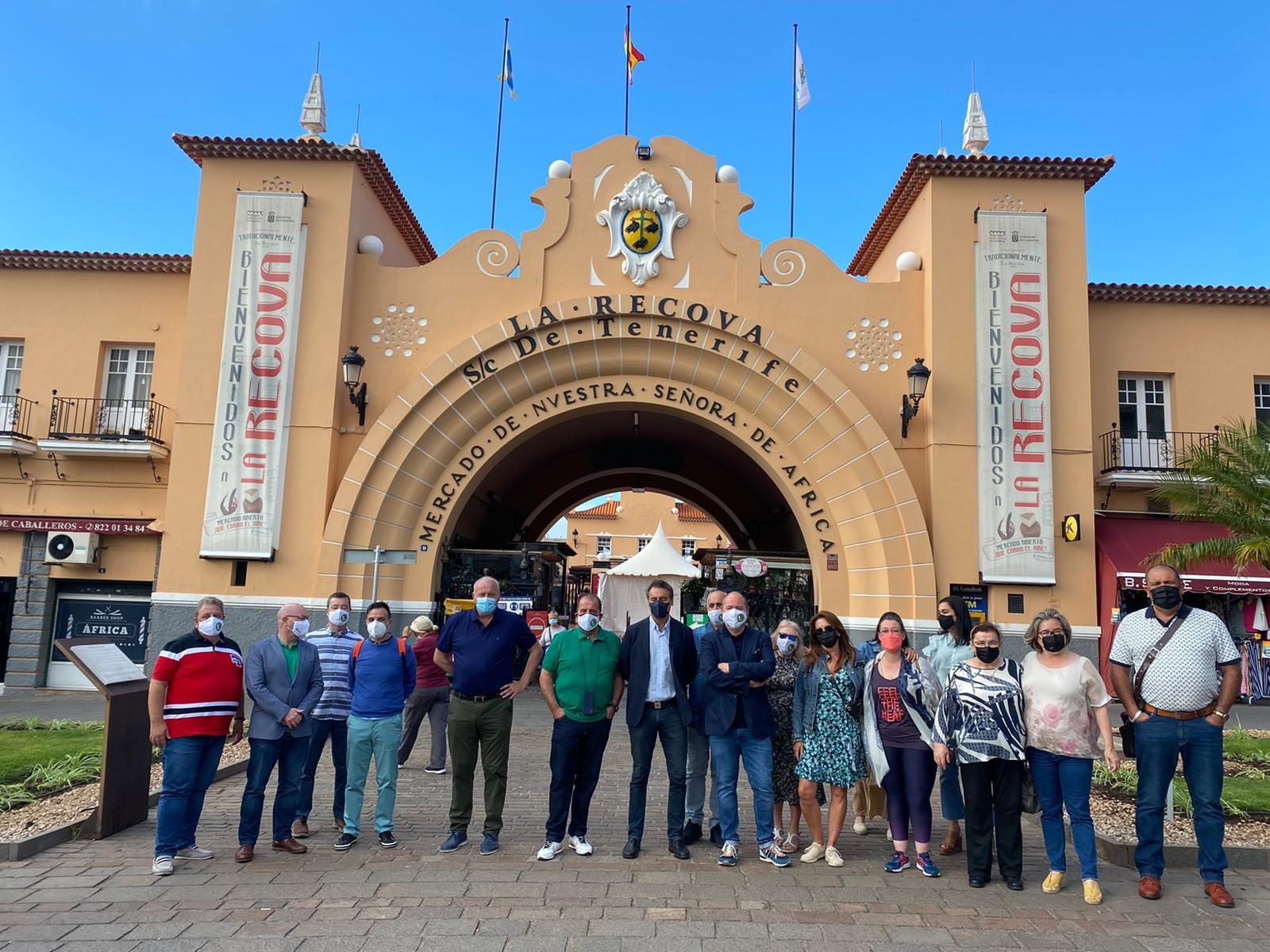 210618 Visita Mercado Encuentro de Mercados Tradicionales